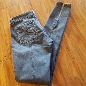Habitual Ankle Zip Skinny Moto Jeans Size 29